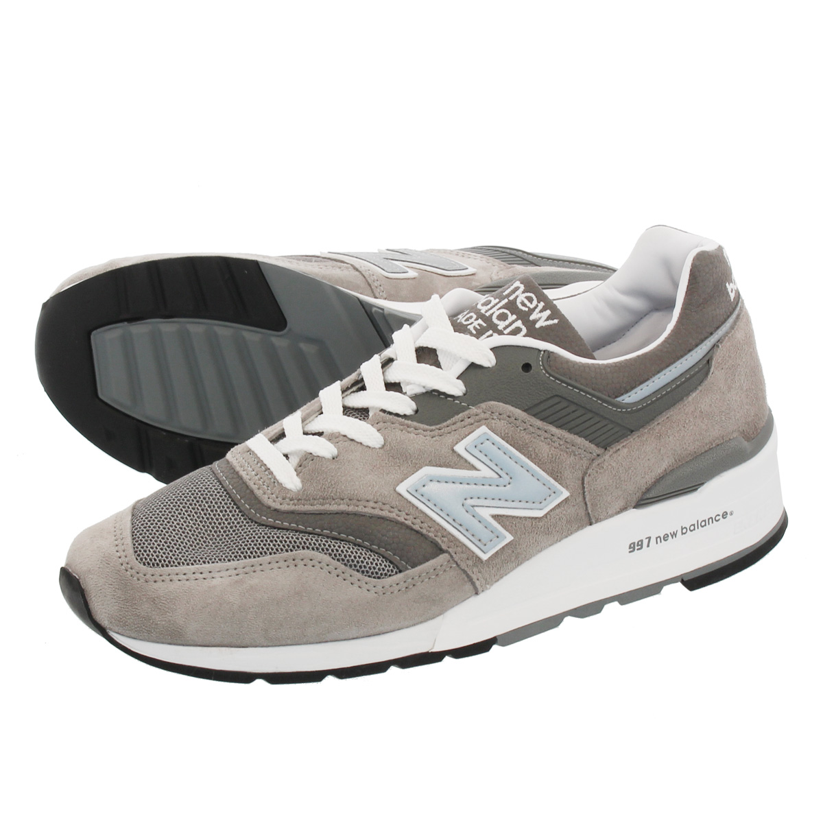 NEW BALANCE M997GY2 【MADE IN U.S.A.】 【Dワイズ】 ニューバランス M 997 GY2 GREY