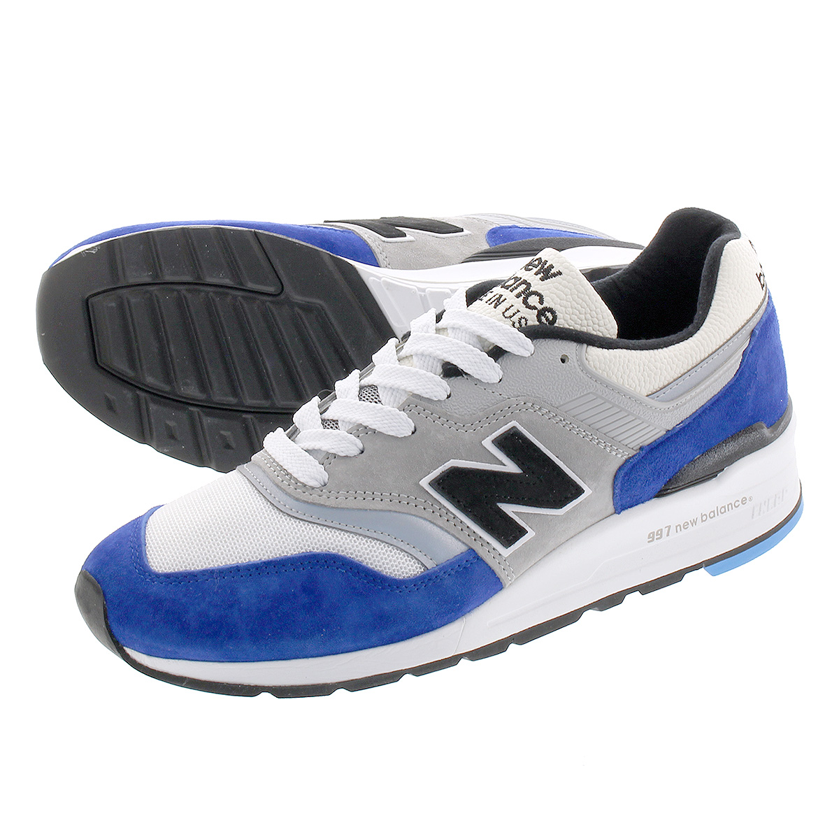 the latest 452a2 bb203 NEW BALANCE M997OGA New Balance M 997 OGA BLUE/WHITE/GREY
