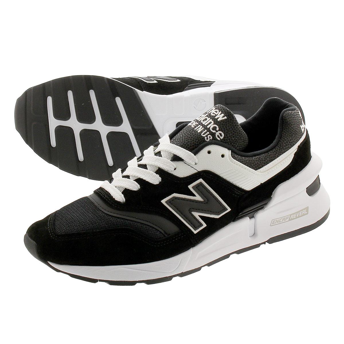 <title>送料無料 NEW BALANCE ニューバランス スニーカー 靴 メンズ ブラック 黒 m997sbw M997SBW 初回限定 MADE IN U.S.A. M 997 SBW BLACK WHITE</title>