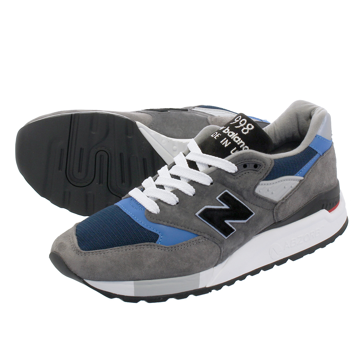 NEW BALANCE M998NF 【MADE IN U.S.A.】 【Dワイズ】 ニューバランス M 998 NF GRAY/BLUE
