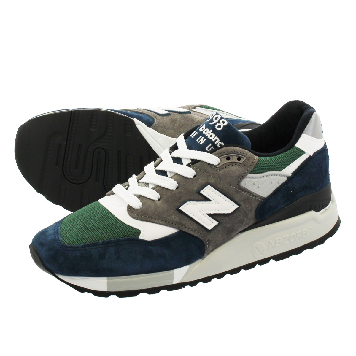 NEW BALANCE M998NL 【MADE IN U.S.A.】 【Dワイズ】 ニューバランス M 998 NL BLUE/GREEN