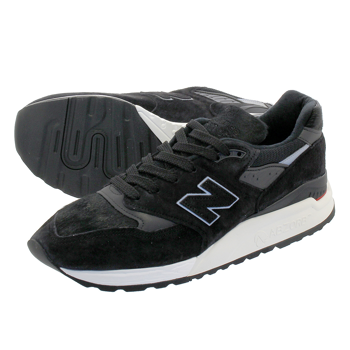 NEW BALANCE M998TCB 【MADE IN U.S.A.】 【Dワイズ】 ニューバランス M 998 TCB BLACK