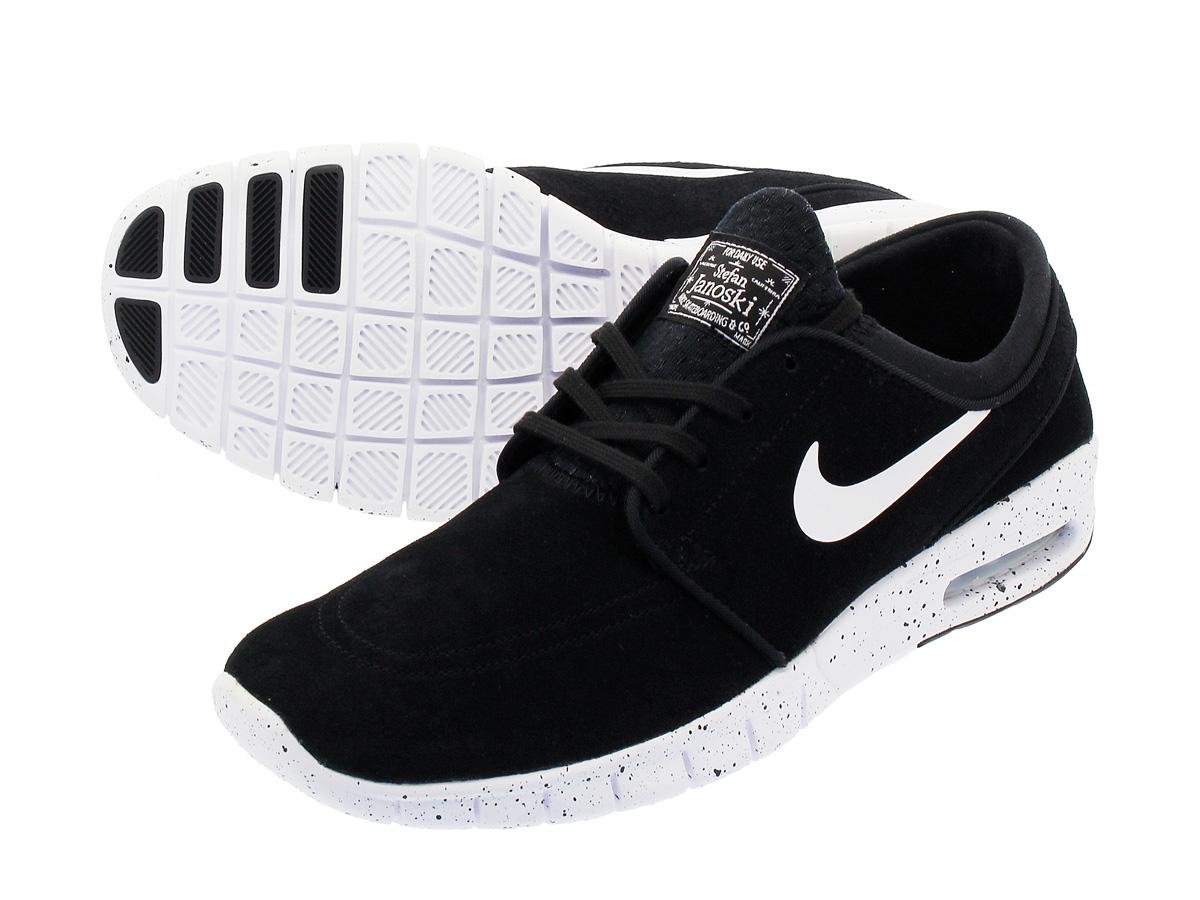 Nike Chaussures Stefan Janoski Skate Max - Marché De La Maison En Noir Et Blanc 2015 nouvelle vente excellente en ligne pas cher Nice vente grande remise Footaction q26c8