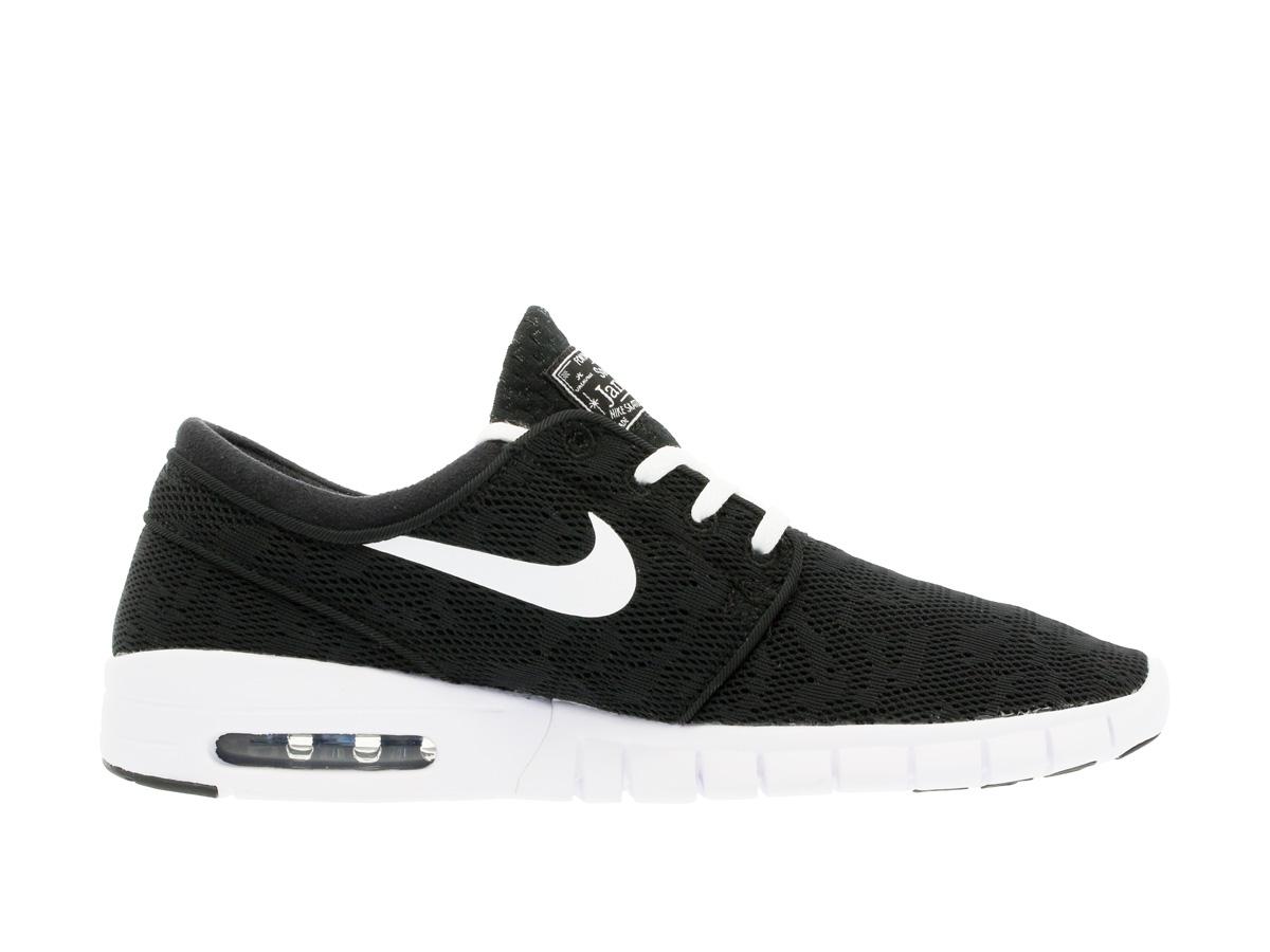 Nike Sb Zapatos Del Patín Stefan Janoski Max - Negro Y Blanco Mercado De Casa GyQ4yTCq