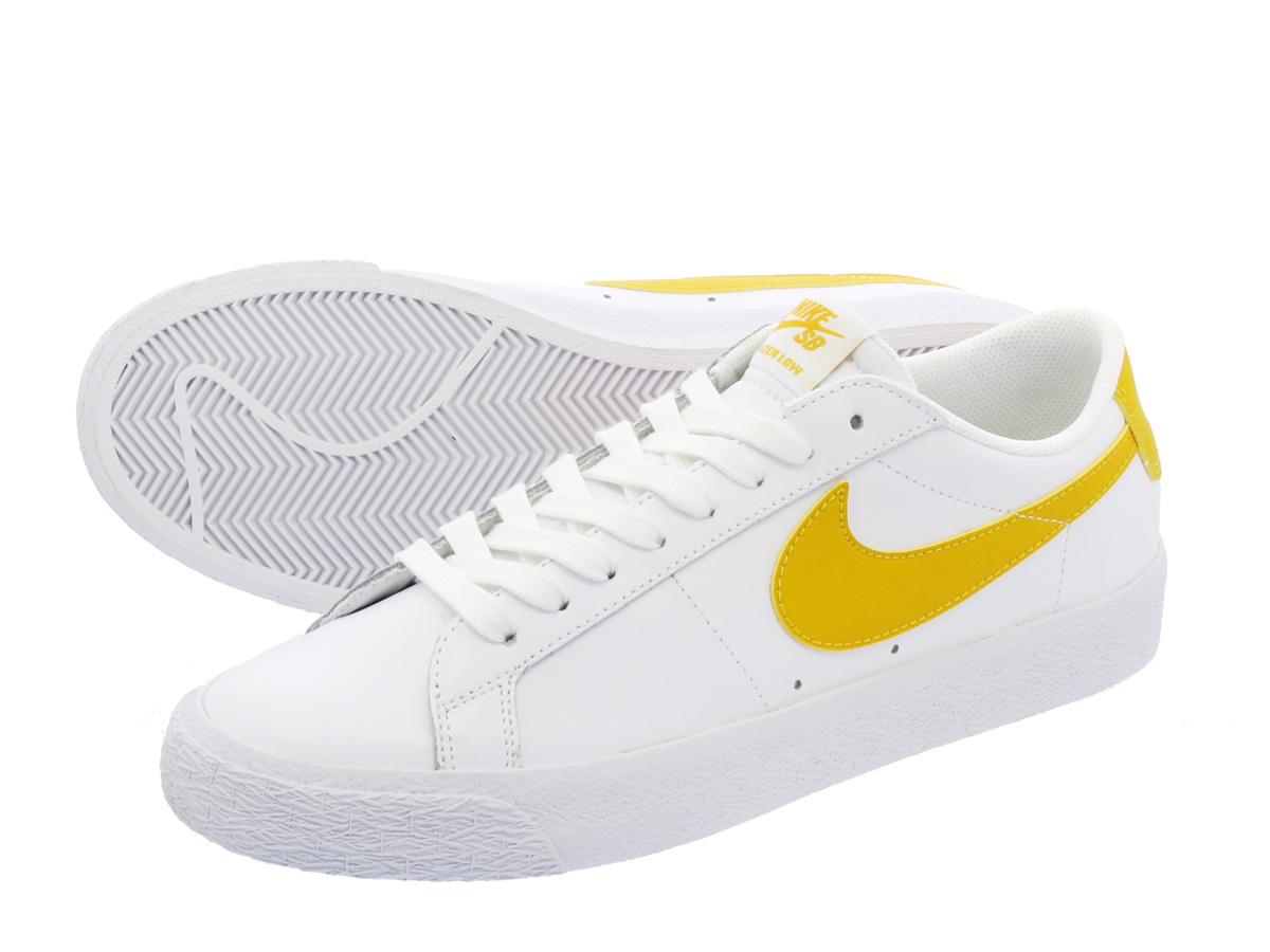 NIKE SB BLAZER ZOOM LOW ナイキ SB ブレザー ズーム ロー WHITE/MINERAL GOLD 864347-171