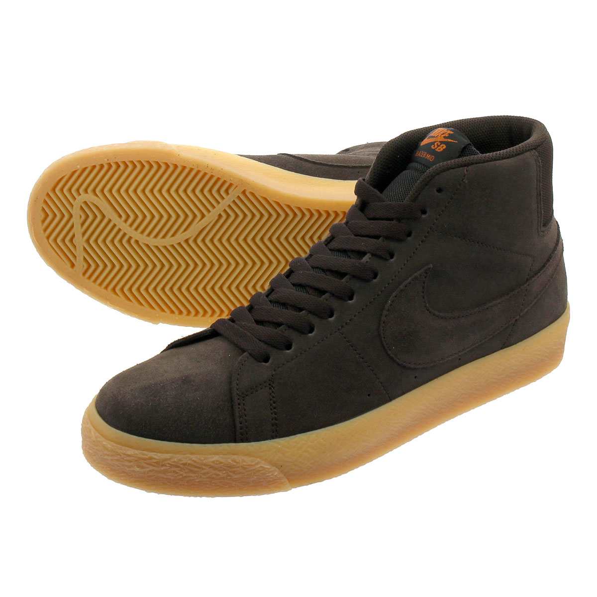 117281fb4a8 LOWTEX PLUS  NIKE SB BLAZER ZOOM MID Nike SB blazer zoom mid VELVET  BROWN VELVET BROWN 864