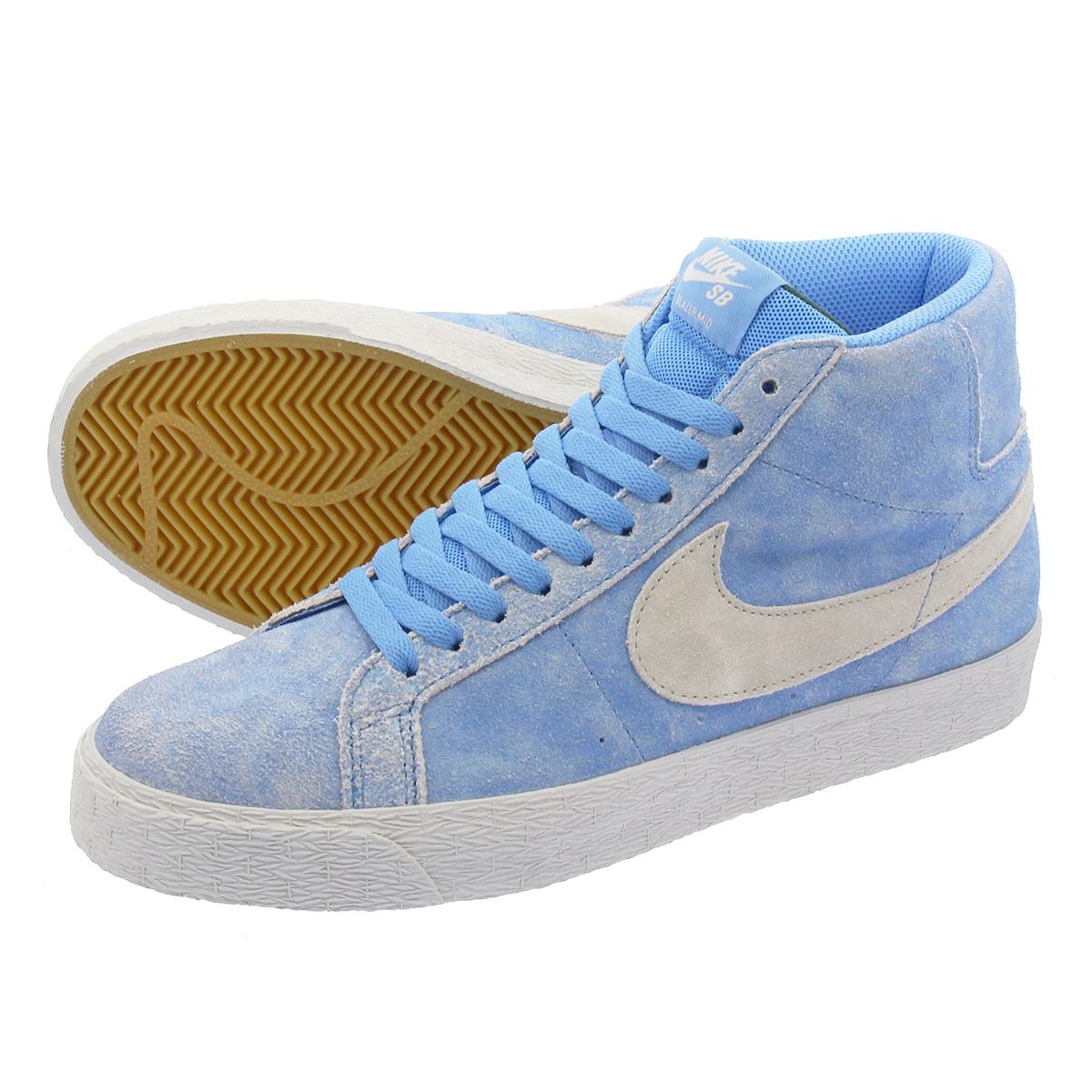 4a0f6741ddaeb NIKE SB BLAZER ZOOM MID Nike SB blazer zoom mid UNIVERSITY BLUE LIGHT BONE  864