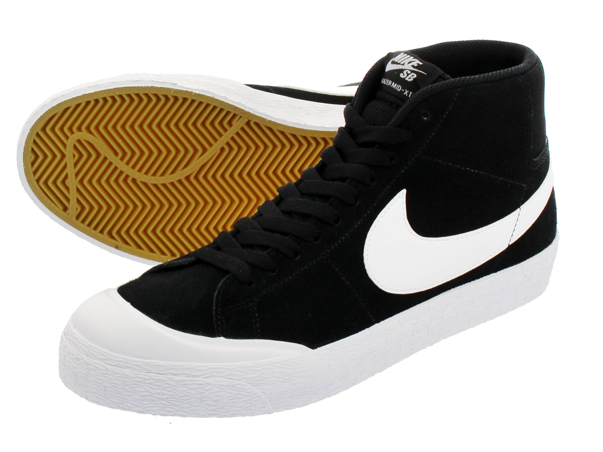 137cf0b99eb991 LOWTEX PLUS  NIKE SB BLAZER ZOOM MID XT Nike SB blazer zoom mid XT  BLACK WHITE GUM LIGHT BROWN