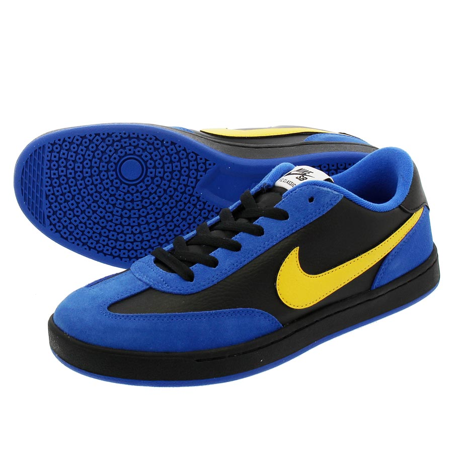 e41feeaefd64f1 NIKE SB FC CLASSIC Nike SB FC classical music ROYAL BLUE VARSITY MAIZE BLACK