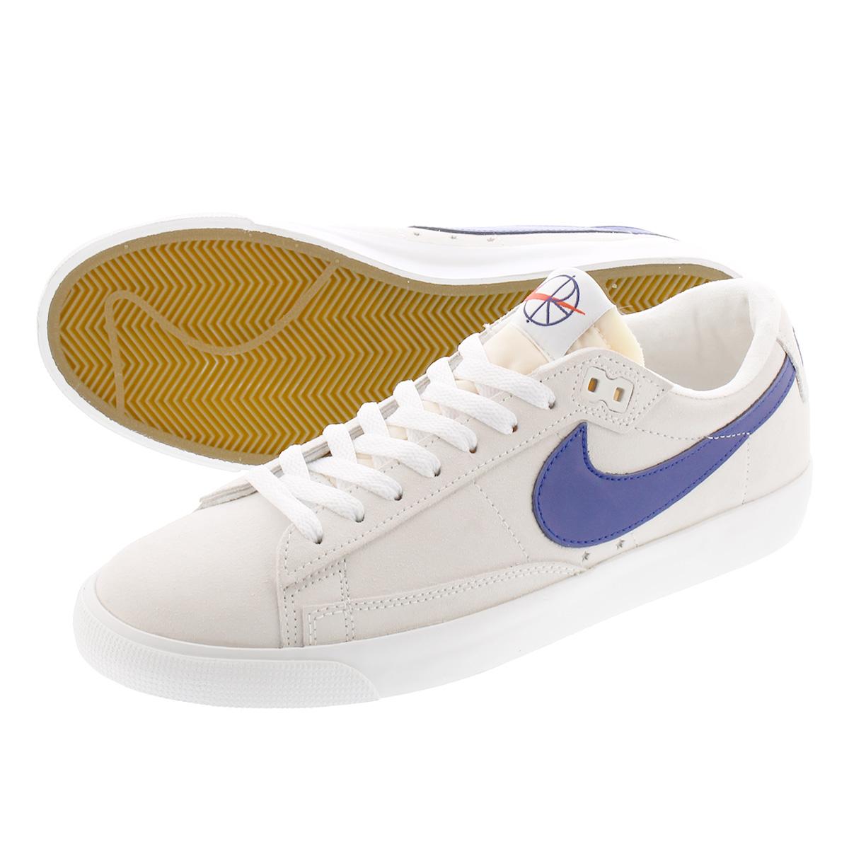 POLAR x NIKE SB ZOOM BLAZER LOW GT QS polar x Nike SB zoom blazer low GT QS  SUMMIT WHITE/DEEP ROYAL BLUE av3028-100