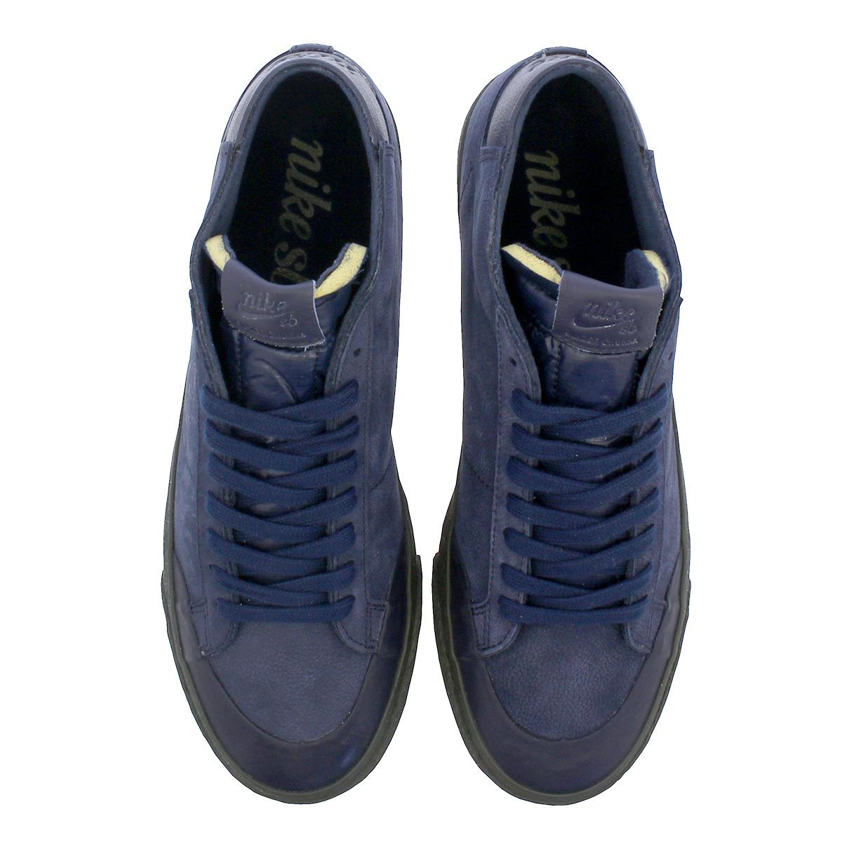 69cf3c59a5fe1 NIKE SB ZOOM BLAZER CHUKKA XT PRM Nike SB ズームブレザーチャッカ XT premium OBSIDIAN  av3529-440