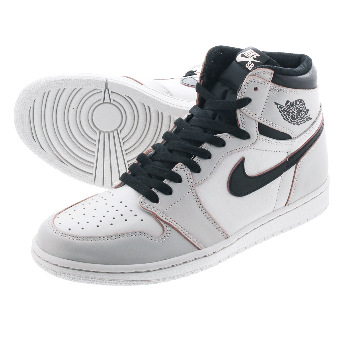 b95f1d8a NIKE SB AIR JORDAN 1 RETRO HIGH OG DEFIANT Nike SB Air Jordan 1 nostalgic  high OG ディファイアント LIGHT BONE/CRIMSON TINT/HYPER PINK cd6578-006