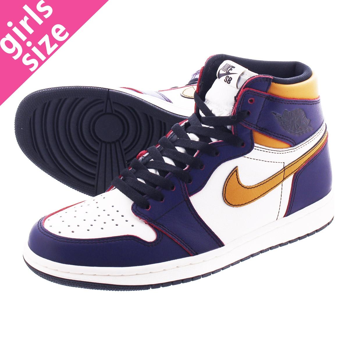 NIKE SB AIR JORDAN 1 RETRO HIGH OG DEFIANT Nike SB Air Jordan 1 nostalgic  high OG ディファイアント COURT PURPLE/BLACK/SAIL/UNIVERSITY GOLD cd6578-507