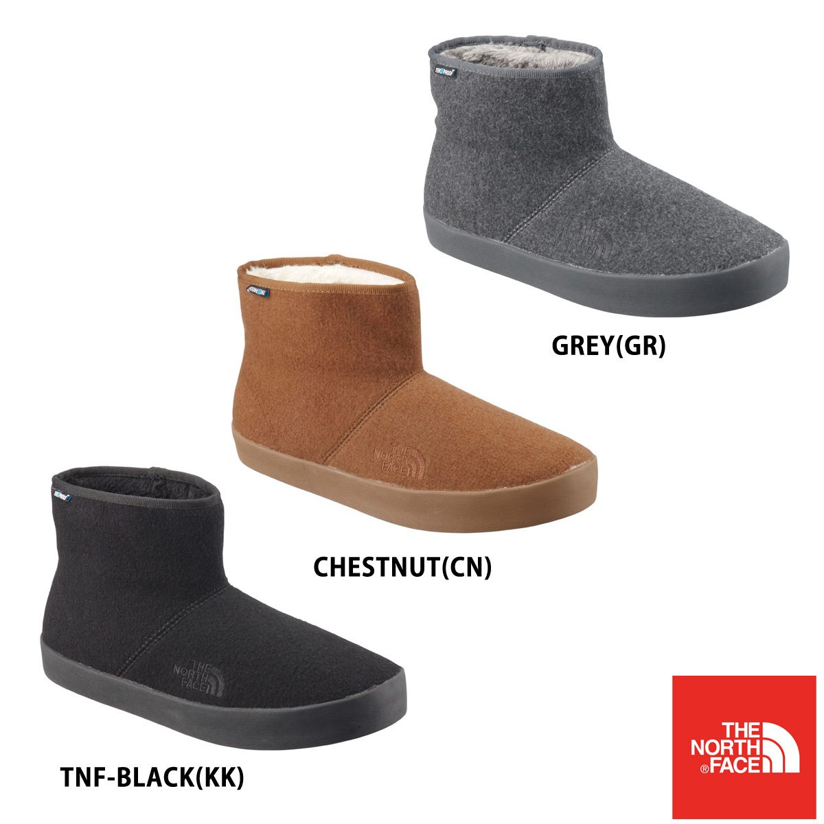 THE NORTH FACE WINTER CAMP BOOTIE III SHORT ノースフェイス ウィンター キャンプ ブーツ 3 ショート nf51891