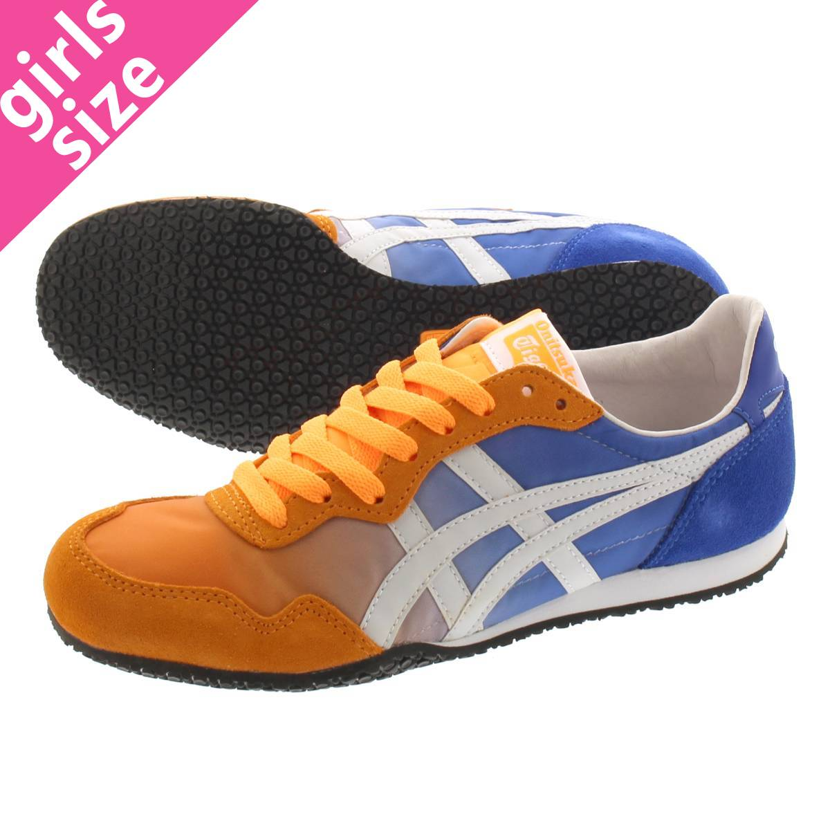 New Onitsuka Tiger SERRANO SLIP-ON D7F0N Vision Blue × Cream from Japan F//S