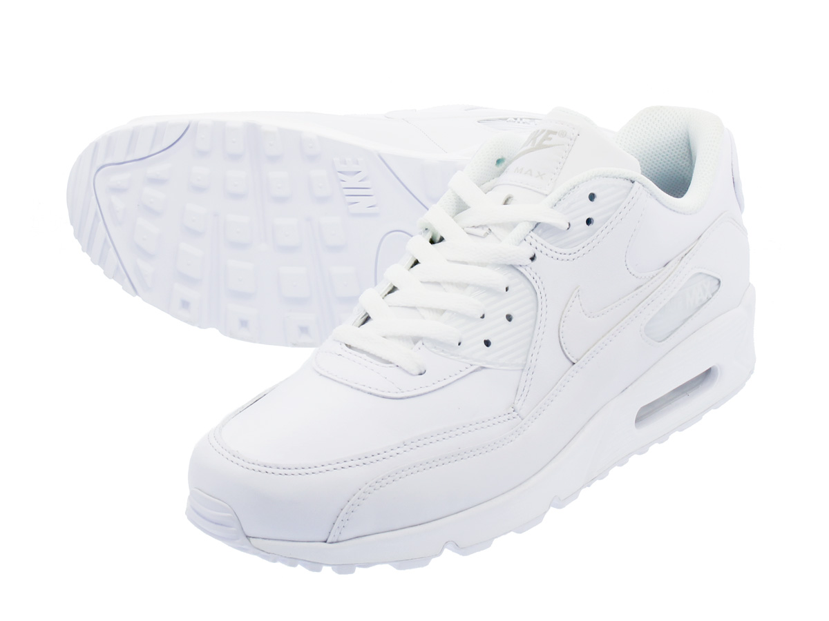 NIKE AIR MAX 90 LEATHER Air Max 90 leather WHITE