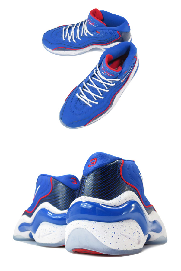 366a1274717 NIKE AIR ZOOM FLIGHT 96  ALLEN IVERSON  ナイキ エア ズーム フライト 96 GAME ROYAL UNIVERSITY  RED 317980-400 -スニーカー