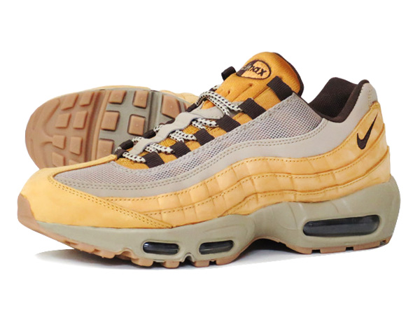 hot sale online eb0ee 0307d NIKE AIR MAX 95 PREMIUM BRONZE/BROWN/BAMBOO 【WHEAT PACK】