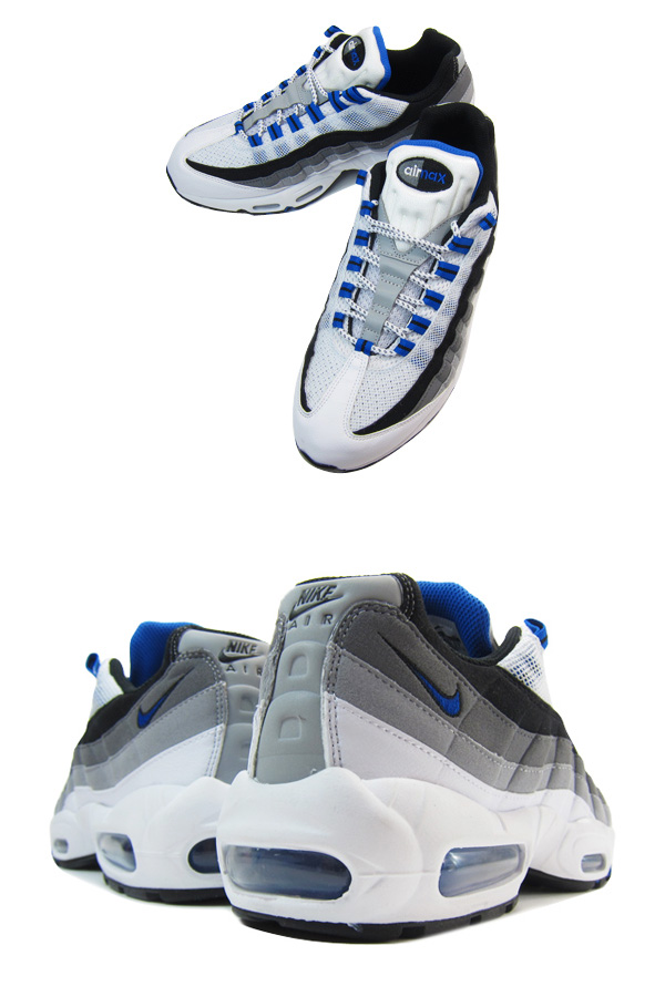 Nike Air Max 95 Azul Gris Blanco hP4IFK0C