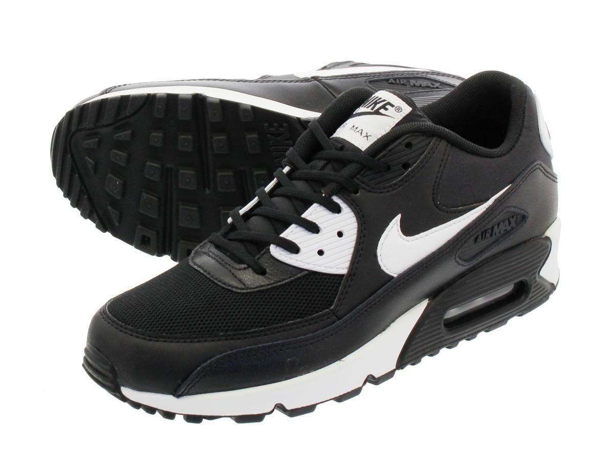 Shoes NIKE Air Max 90 Essential 616730 023 BlackWhiteMetallic Silver