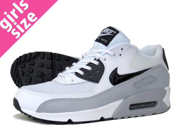 the best attitude 84d09 edd6b NIKE WMNS AIR MAX 90 ESSENTIAL WHITE BLACK WOLF GREY