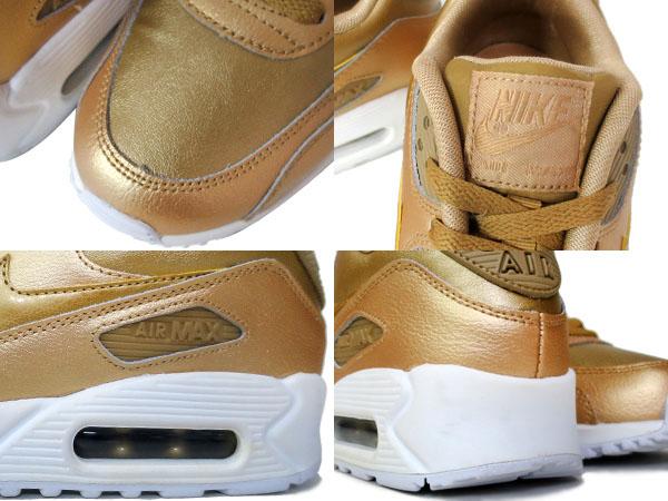 nike air max 90 ltr gs metallic gold trainersonline