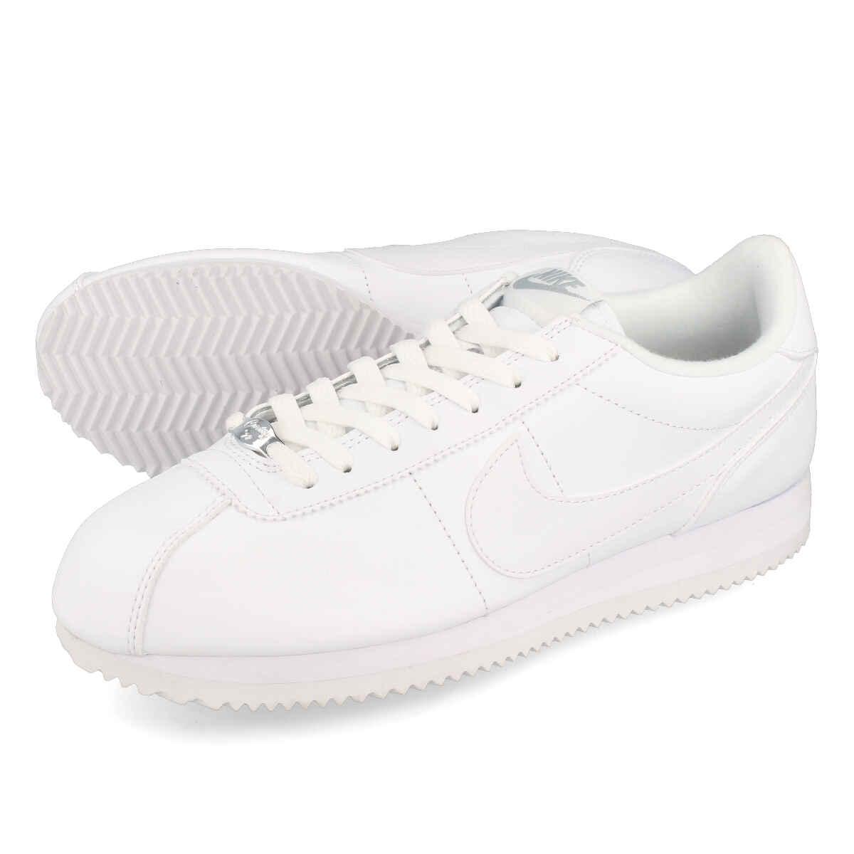 huge selection of 8ab82 6d533 NIKE CORTEZ BASIC LEATHER Nike Cortez basic leather WHITE
