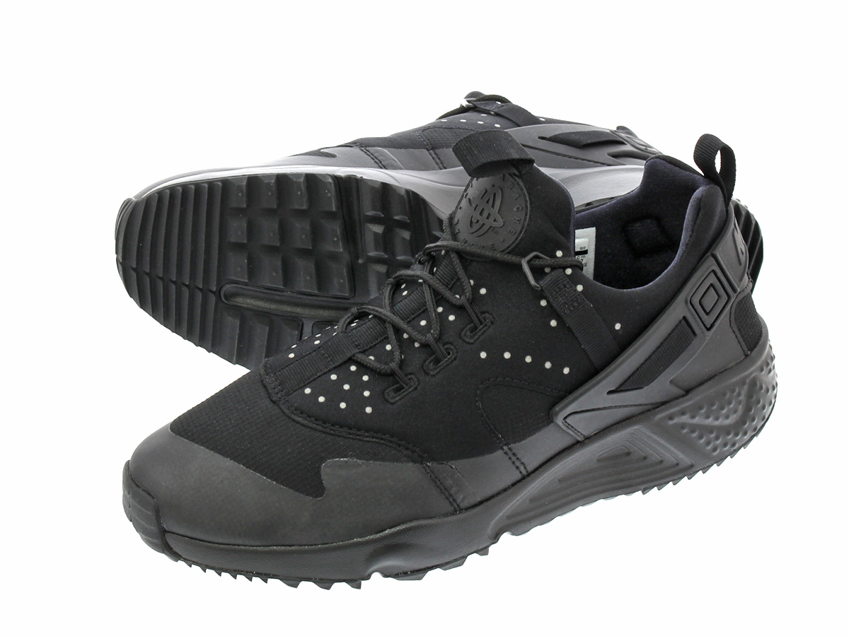 low priced 4674c d63df NIKE AIR HUARACHE UTILITY ナイキエアハラチユーティリティー BLACK/BLACK 806,807-004