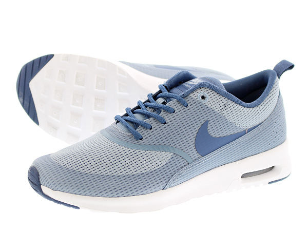 bc2328802ca NIKE WMNS AIR MAX THEA TEXTILE Nike women's Air Max Shea textiles BLUE GREY/ OCEAN FOG/WHITE