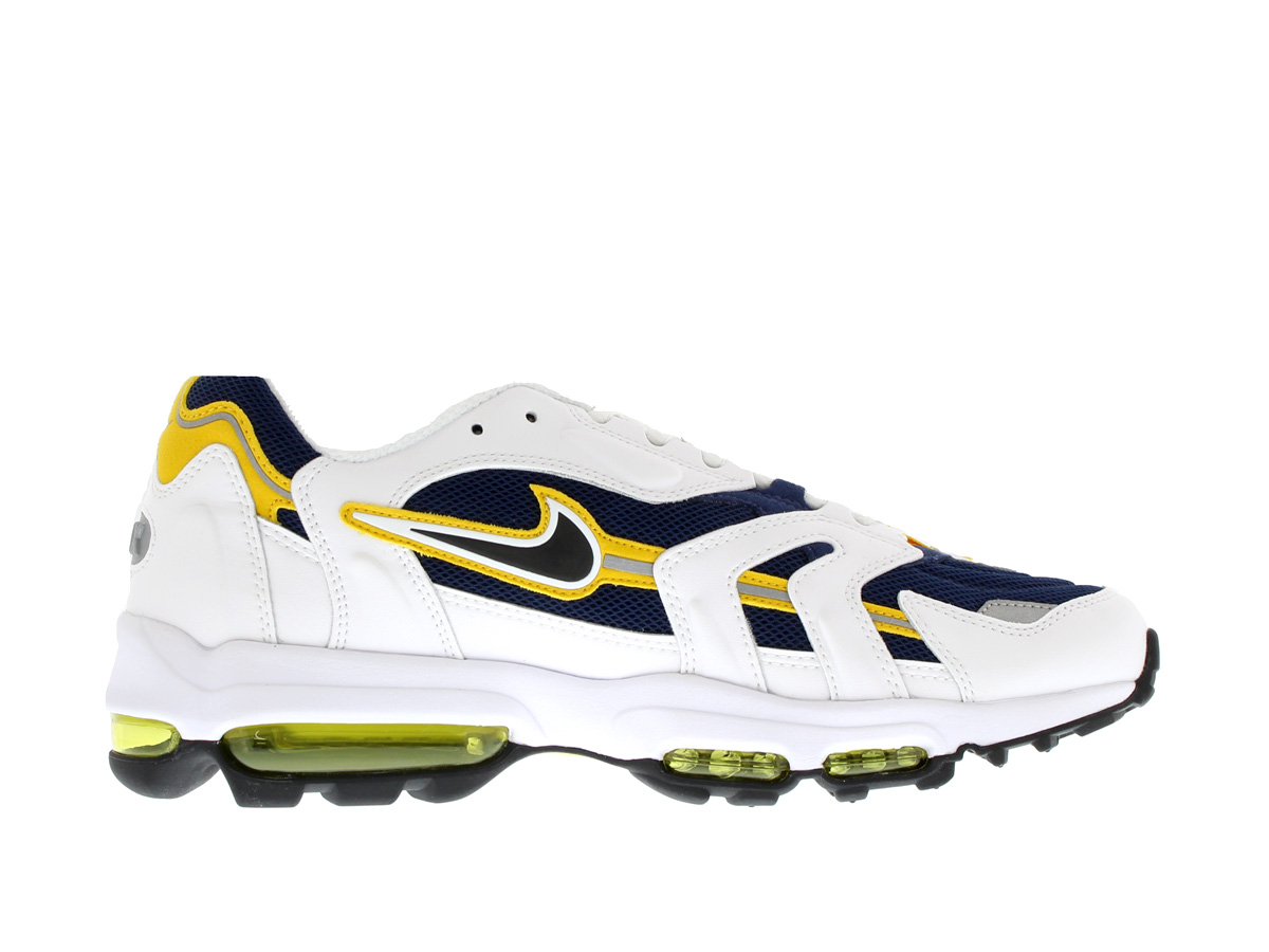 NIKE AIR MAX 96 II XX Nike Air Max 96 II XX WHITE/NAVY/YELLOW