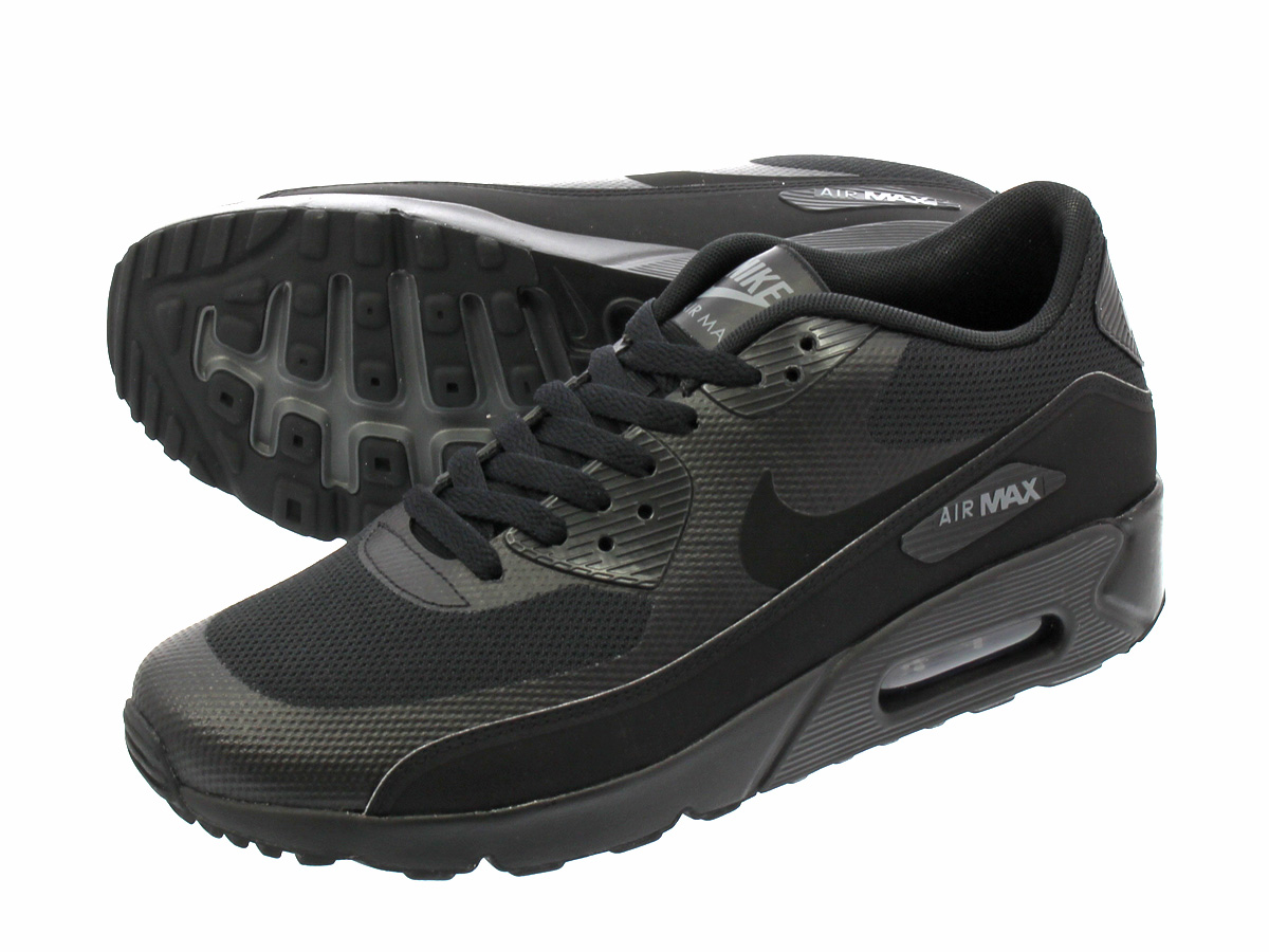NIKE AIR MAX 90 ULTRA 2.0 ESSENTIAL Kie Ney AMAX 90 ultra 2.0 essential BLACKBLACKDARK GREY 875,695 002