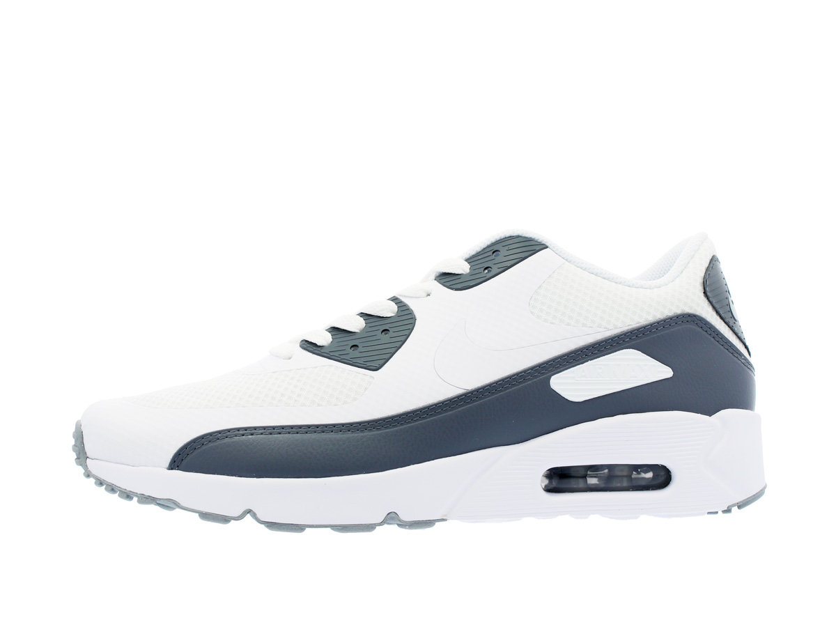 NIKE AIR MAX 90 ULTRA 2.0 ESSENTIAL Kie Ney AMAX 90 ultra 2.0 essential WHITE/WHITE/COOL GREY/WOLF GREY