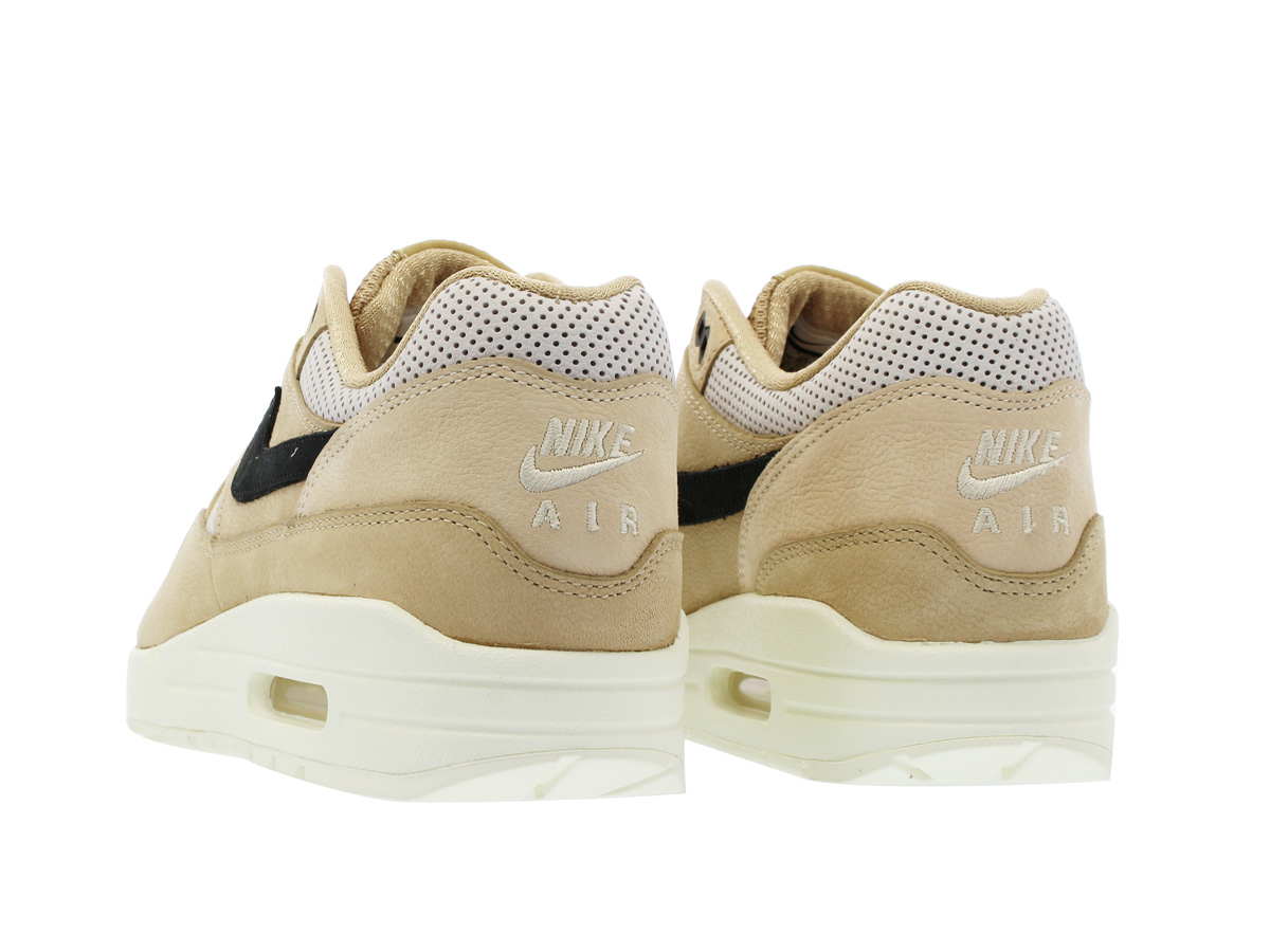 6d01f6ca966b NIKE WMNS AIR MAX 1 PINNACLE Nike women Air Max 1 Pinnacle MUSHROOM BLACK LIGHT  BONE 839608-201-l