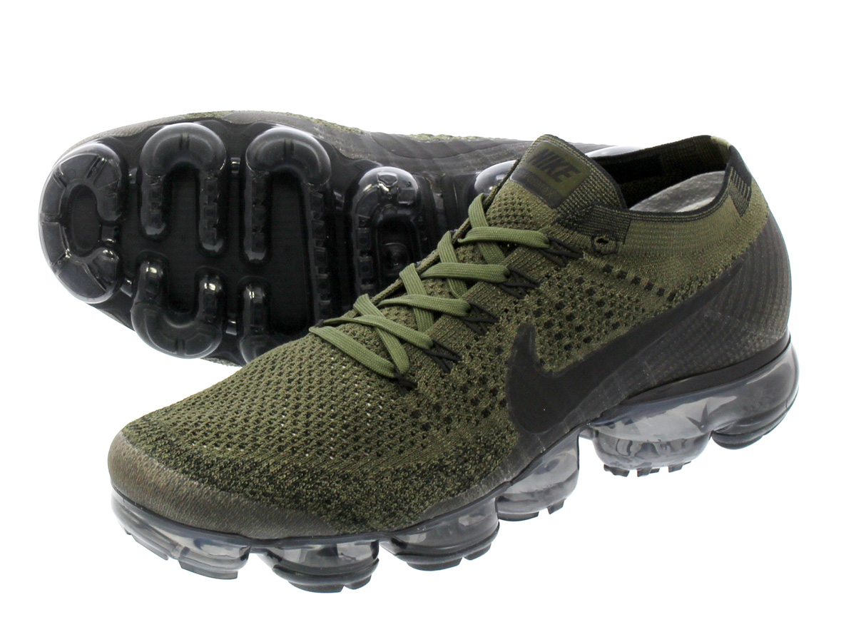 sports shoes 7fb75 25e1e NIKE AIR VAPORMAX FLYKNIT Nike vapor max fried food knit MIDNIGHT FOGCARGO  KHAKIDESERT MOSS