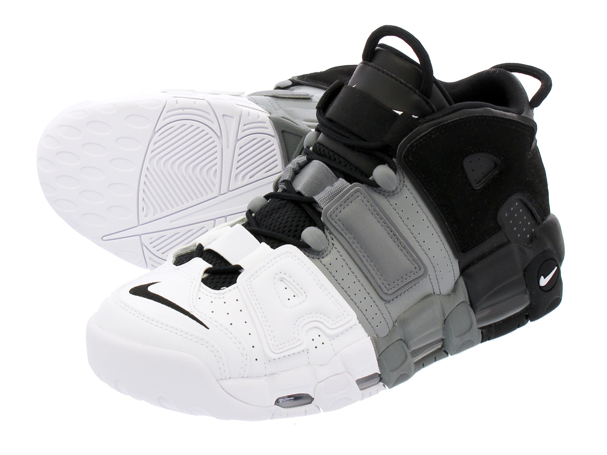 1e0175fe480 NIKE AIR MORE UPTEMPO 96 Nike more up tempo 96 BLACK BLACK COOL GREY WHITE