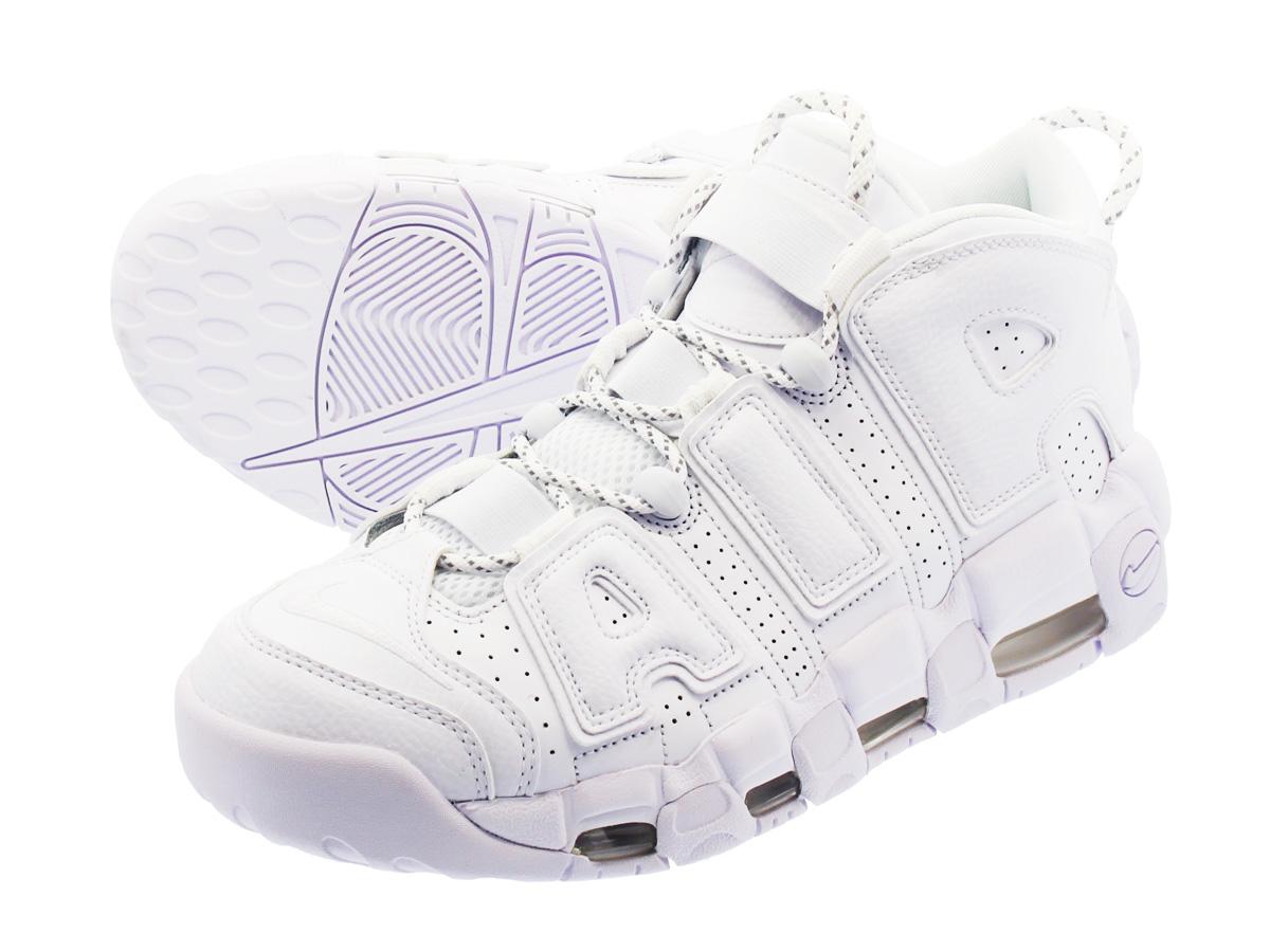NIKE AIR MORE UPTEMPO 96 【WHITE ON WHITE】 ナイキ モア アップ テンポ 96 WHITE/WHITE/WHITE 921948-100