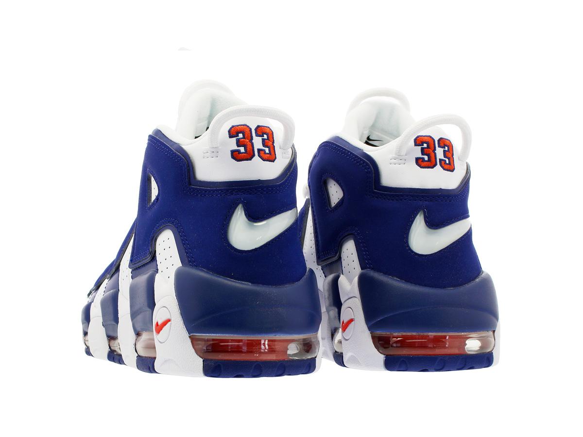separation shoes 851b7 806dd NIKE AIR MORE UPTEMPO 96 Nike more up tempo 96 WHITE DEEP ROYAL BLUE TEAM  ORANGE