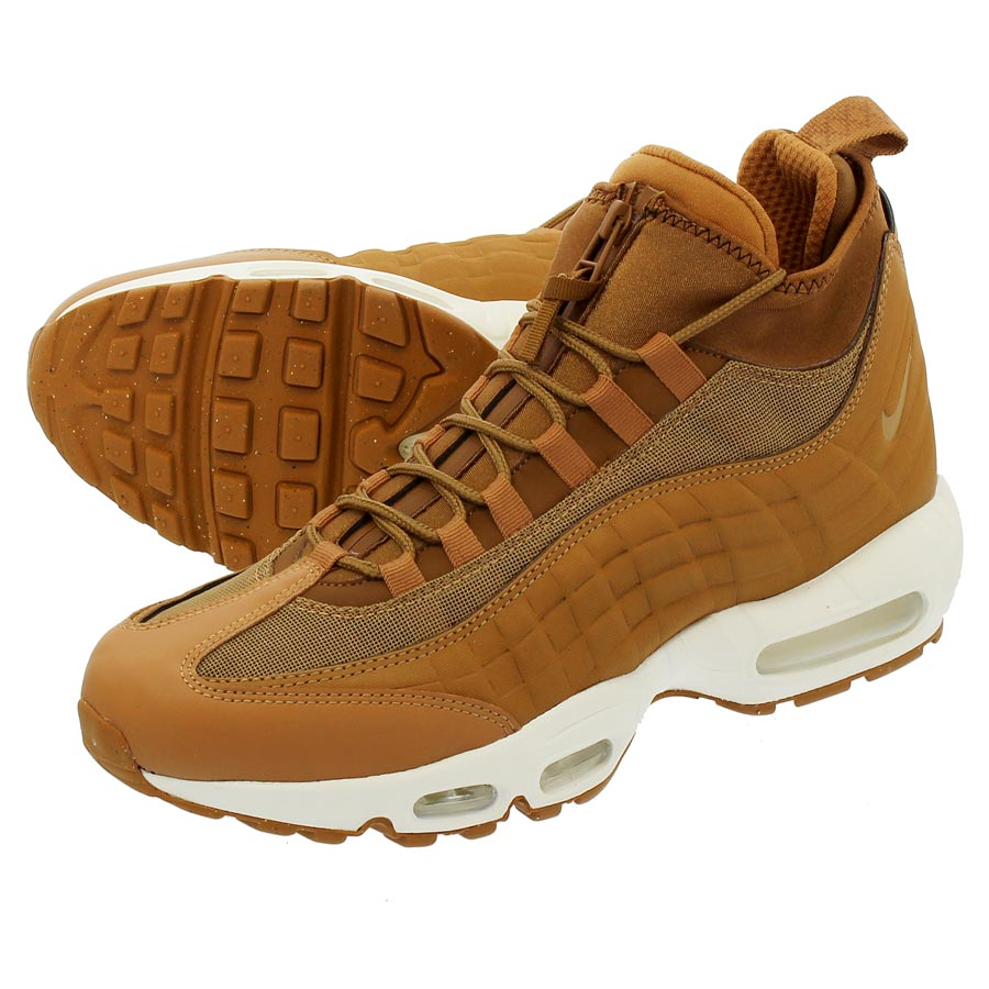 NIKE AIR MAX 95 SNEAKERBOOT 【WHEAT】 ナイキ エア マックス 95 スニーカーブーツ FLAX/ALE BROWN/SAIL/FLAX