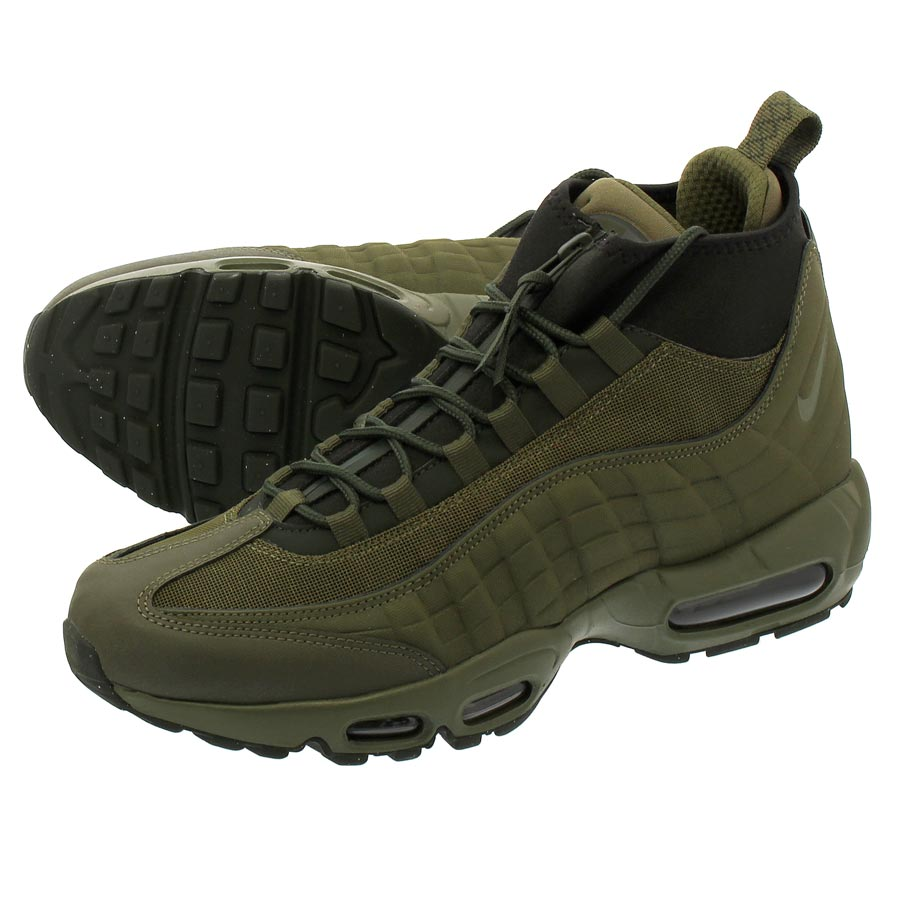 low priced 56192 2c246 NIKE AIR MAX 95 SNEAKERBOOT Kie Ney AMAX 95 sneakers boots MEDIUM  OLIVE MEDIUM OLIVE