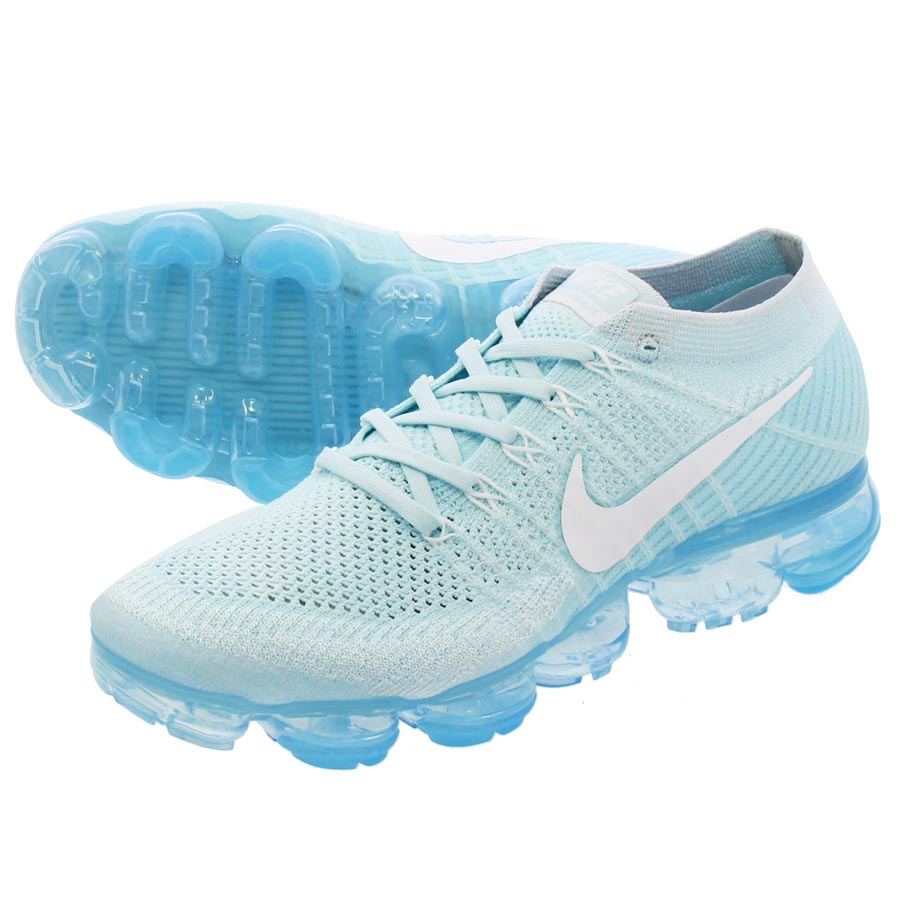 NIKE AIR VAPORMAX FLYKNIT ナイキ ヴェイパー マックス フライニット GLACIER BLUE/WHITE/PURE PLATINUM 849558-404