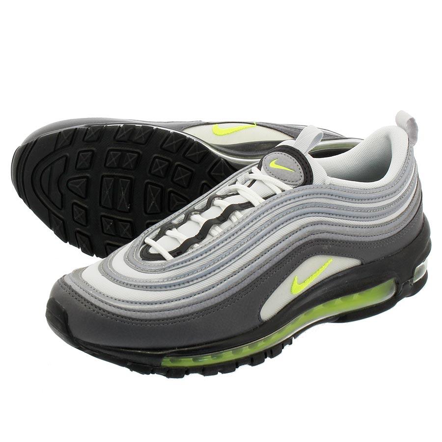 853f3eb130 LOWTEX PLUS: NIKE WMNS AIR MAX 97 Nike women Air Max 97 DARK GREY/VOLT/STEALTH/PURE  PLATINUM 921,733-003 | Rakuten Global Market