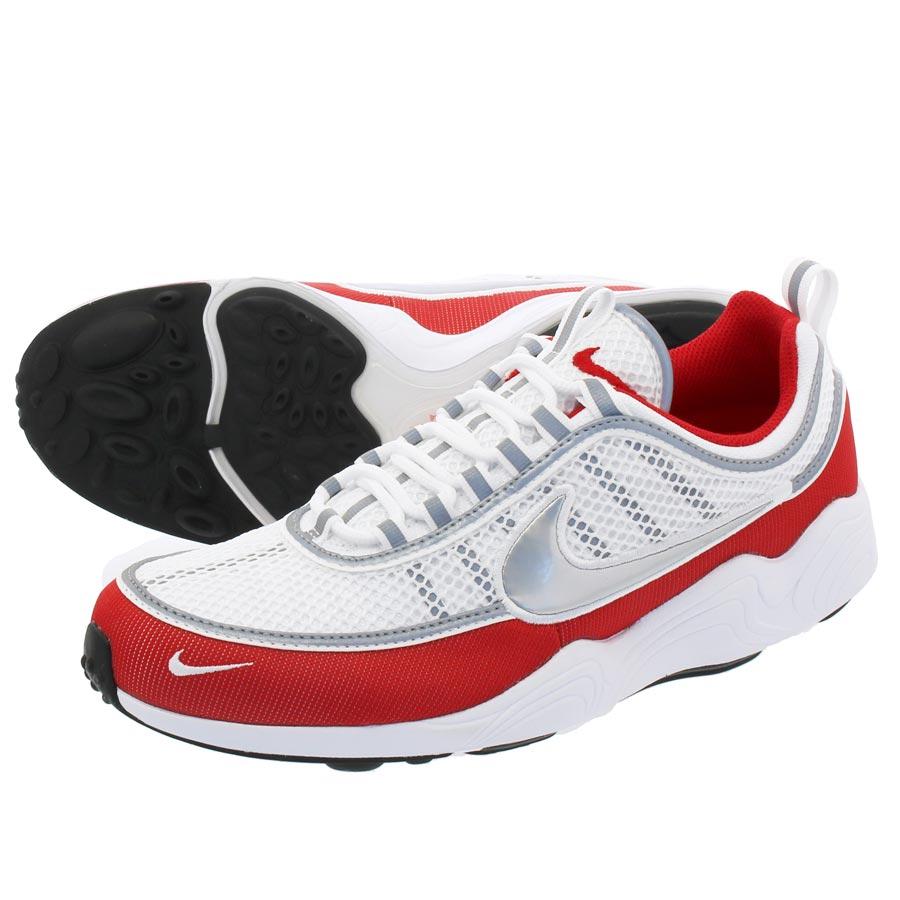 af08387b6b36 NIKE ZOOM SPIRIDON  16 Nike zoom pyridone  16 WHITE METALLIC SILVER RED  926
