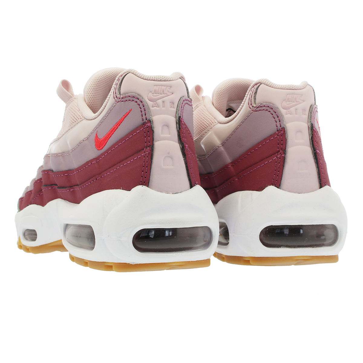 793a73dbb67f NIKE WMNS AIR MAX 95 Nike women Air Max 95 BARELY ROSE HOT PUNCH VINTAGE  WINE WHITE