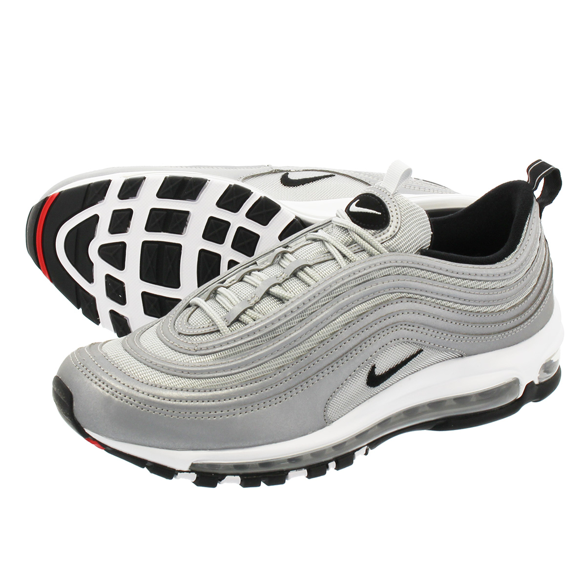 0c492c144a LOWTEX PLUS: NIKE AIR MAX 97 PREMIUM Kie Ney AMAX 97 premium REFLECT SILVER/ BLACK/PURE PLATINUM 312,834-007 | Rakuten Global Market