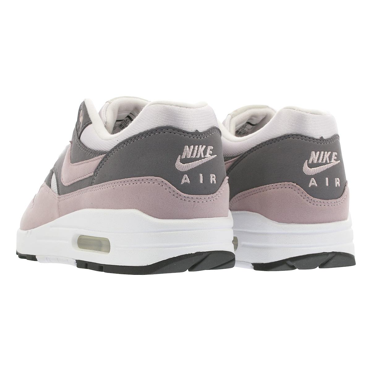 NIKE WMNS AIR MAX 1 Nike women Air Max 1 VAST GREYPARTICLE ROSEGUNSMOKEBLACK 319,986 032