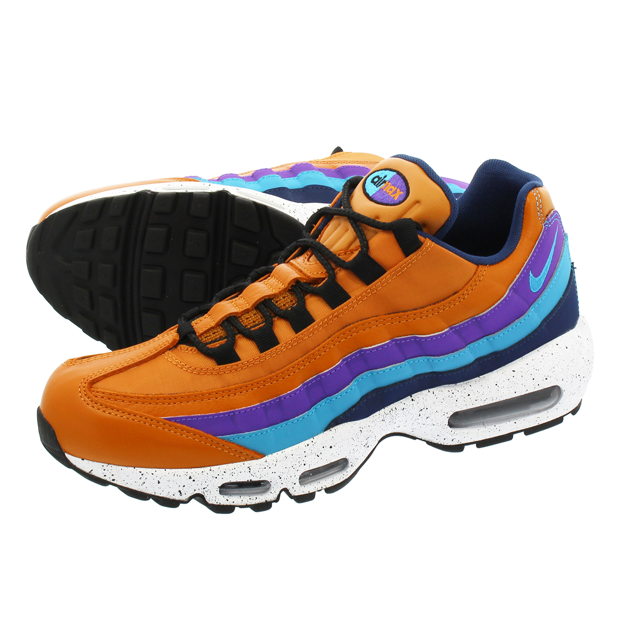 NIKE AIR MAX 95 PREMIUM ナイキ エア マックス 95 プレミアム MONARCH/LT BLUE FURY/NAVY/HYPER GRAPE 538416-800