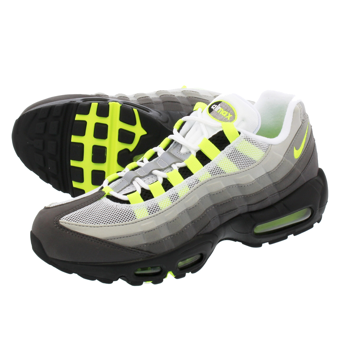 100% authentic 6f434 6ce0f NIKE AIR MAX 95 OG Nike Air Max 95 OG BLACK VOLT MEDIUM ASH DARK PEWTER