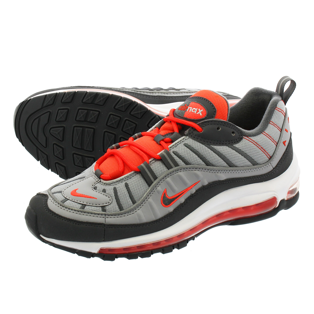 3826459178 NIKE AIR MAX 98 Kie Ney AMAX 98 WOLF GREY/DARK GREY/TOTAL CRIMSON ...