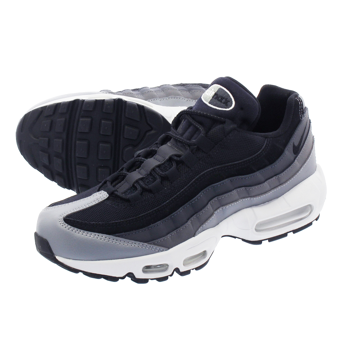 NIKE AIR MAX 95 ESSENTIAL Kie Ney AMAX 95 essential BLACKANTHRACITEDARK GREY