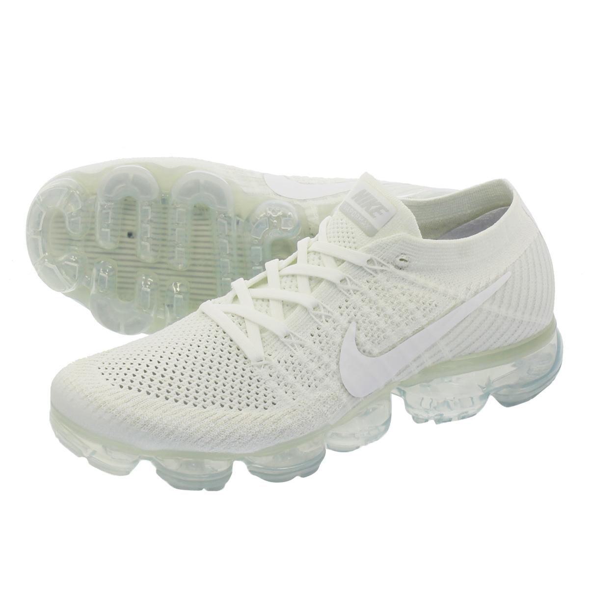 e66f5735f7414 NIKE AIR VAPORMAX FLYKNIT Nike vapor max fried food knit WHITE WHITE SAIL LIGHT  BONE